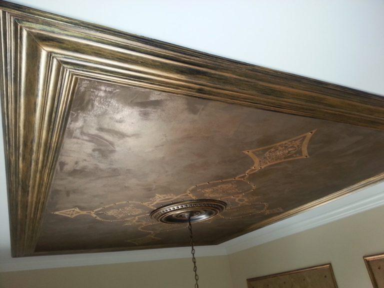 metallic-painting-barrington-crown-molding-barrington