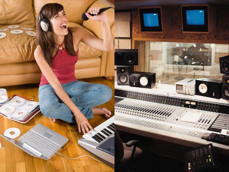 Studio-in-the-basement